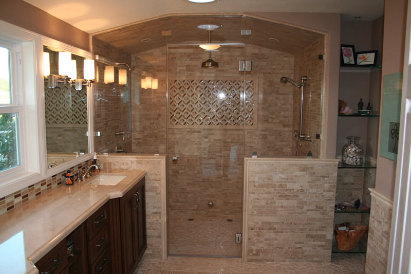 Shawn lober construction for Master bathroom remodel