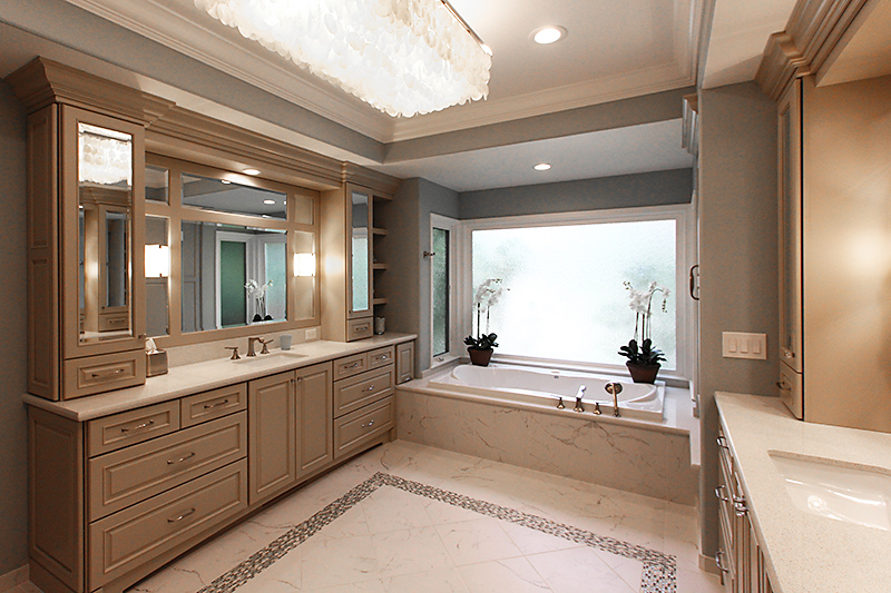 Master Bathroom Addition shawn lober construction